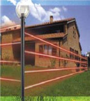 barriera infrarosso da esterno